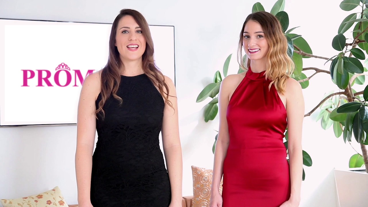 4b457771d38 Picking Your Dress Size with PromGirl - YouTube