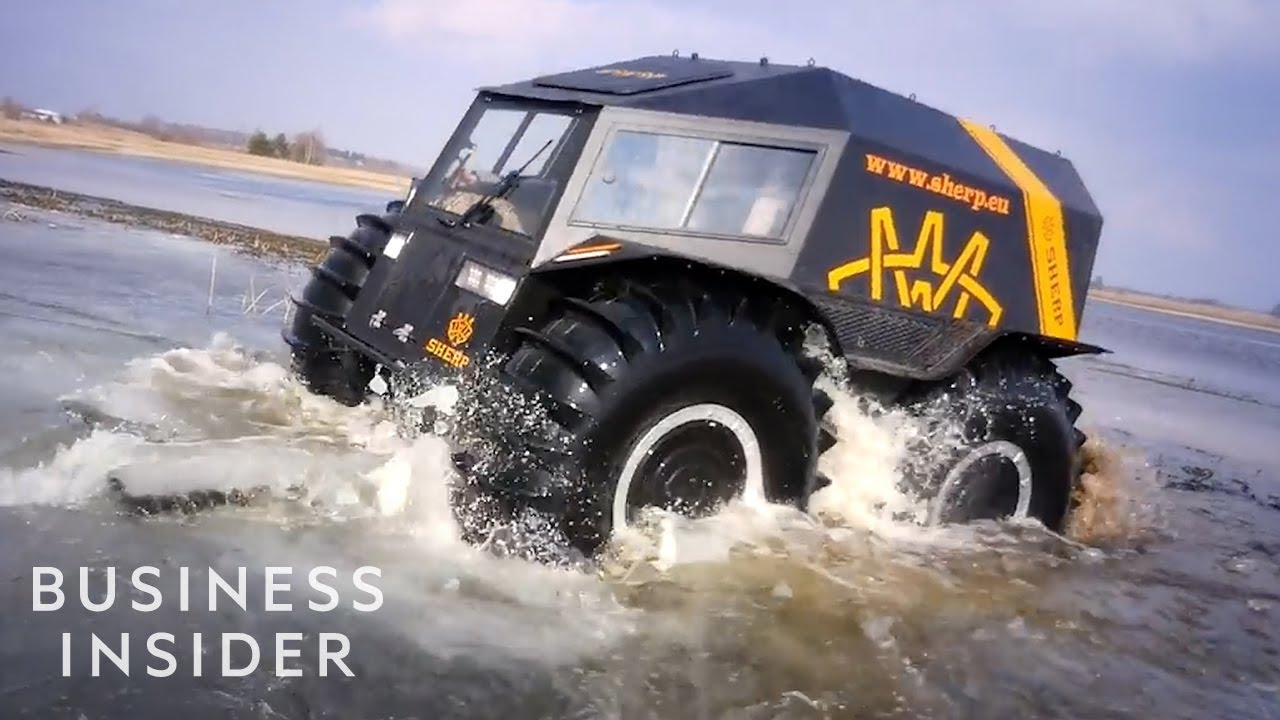 Sherp Atv For Sale >> Russian Sherp Atv Can Save Lives In Dangerous Conditions