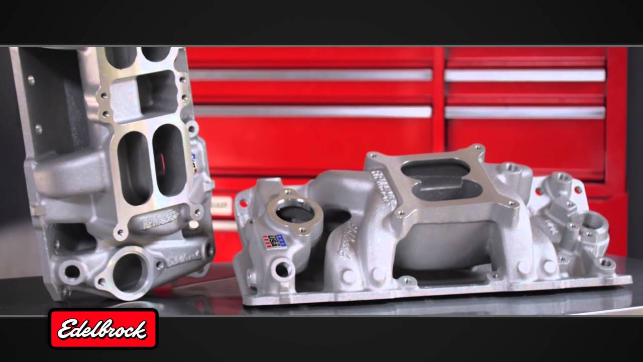 Edelbrock Performer Intake Manifold for 1955-1986 Small Block Chevy