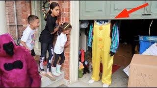 غوريلا في المرآب مقاطع فيديو للأطفال Heidi و Zidane