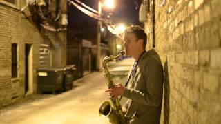 BEATBoX SAX - Stand By Me - Solo Sax and Voice (no overdubs)