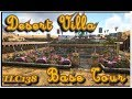 Ark-Desert Villa Base Build Tour.  Xbox one No Mods