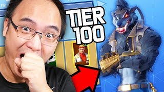 🤣SAISON 6🤣 - I BOUGHT ALL THE PALIERS OF COMBAT PAS ON FORTNITE BATTLE ROYALE!