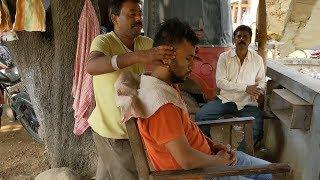 Amazing street massage with neck cracking   Indian Massage