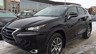 New Black 2015 Lexus NX 200t AWD Premium Review