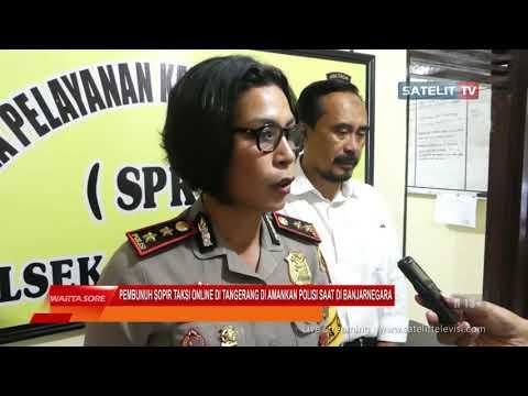 PEMBUNUH SOPIR TAKSI ONLINE DI TANGERANG DI AMANKAN POLISI SAAT DI BANJARNEGARA Mp3
