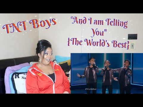 "TNT Boys-""And I am Telling You""{The World&39;s Best}Reaction*INSANE REACTION🤯*"