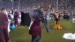 Seymour vs Big Al - Mascot Fight - Southern Miss vs Alabama 2002