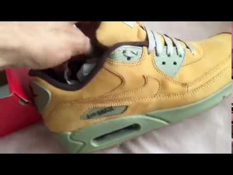 timeless design fdf70 8ad5d ... top quality nike air max 90 wheat limited edition first look review 2016  27557 f9ab4