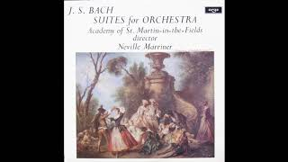 Скачать J S Bach Suites For Orchestra Academy Of St Martin In The Fields Neville Marriner 1971 LP