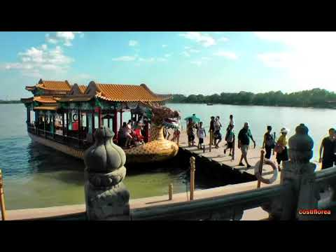 The Summer Palace in Beijing - Trip to China,part 9 -Travel video HD