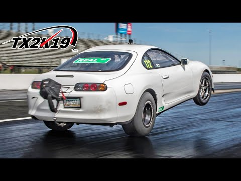 Supra Wheelies, 220mph UGR Lambos - TX2K is POPPING OFF | TX2K19 Day 2