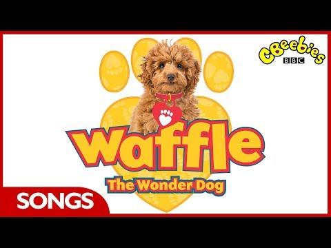 CBeebies Songs | Waffle The Wonder Dog | Theme Song