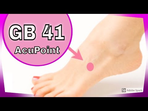 GB 41 Acupuncture point
