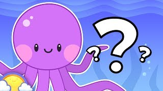 Gambar cover Sea Animals Guessing Game | Plus More Educational Games for Kids! | CheeriToons