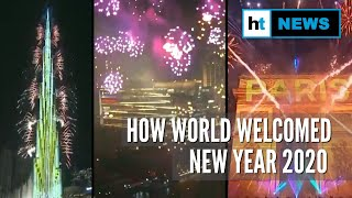 New Year 2020 Watch the most spectacular celebrations from across the globe