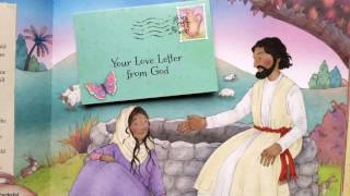 A peek inside Love Letters from God: Bible Stories for a Girl's Heart
