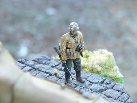 Tutorial: Painting a WWII German Model Figure