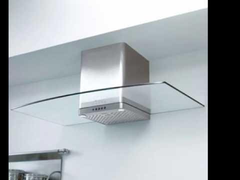 Campana iomabe para cocina campana decorativa de pared campana de acero inoxidable youtube - Cocina con campana decorativa ...