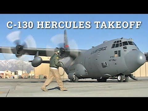 C-130 Engine Start
