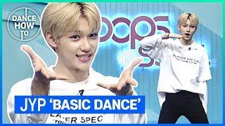 [Pops in Seoul] Felix's Dance How To! JYP's Basic Dance Moves