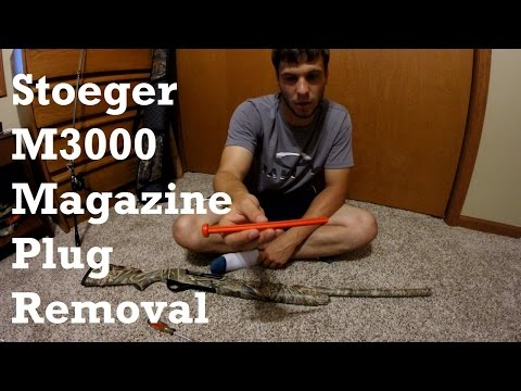 how-to-remove-the-magazine-plug-from-a-stoeger-m3000