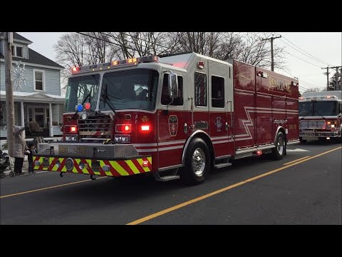 Fire Department Highlights of the 2018 South Glens Falls Christmas Parade