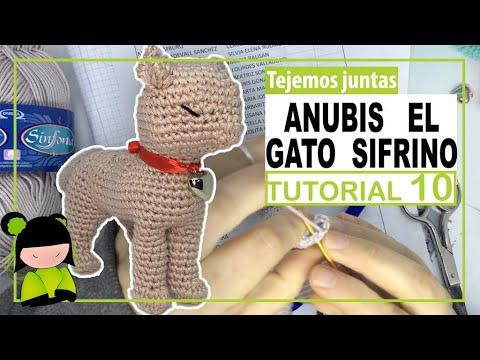 GATO AMIGURUMI parece REAL 🐈 tutorial 10  ❤️ Amigurumi de SAN VALENTIN ❤️
