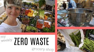 COME ZERO WASTE GROCERY SHOPPING WITH ME | Kate Arnell