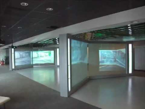 Switchable Smart Glass Screen - World Trade Centre NYC