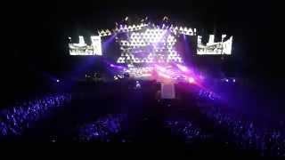 Depeche Mode - Behind the wheel, live Leeds Arena 13.11.13