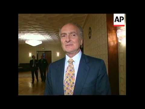 RUSSIA: MOSCOW: INTERNATIONAL CONFERENCE ON DRUG CONTROL OPENS