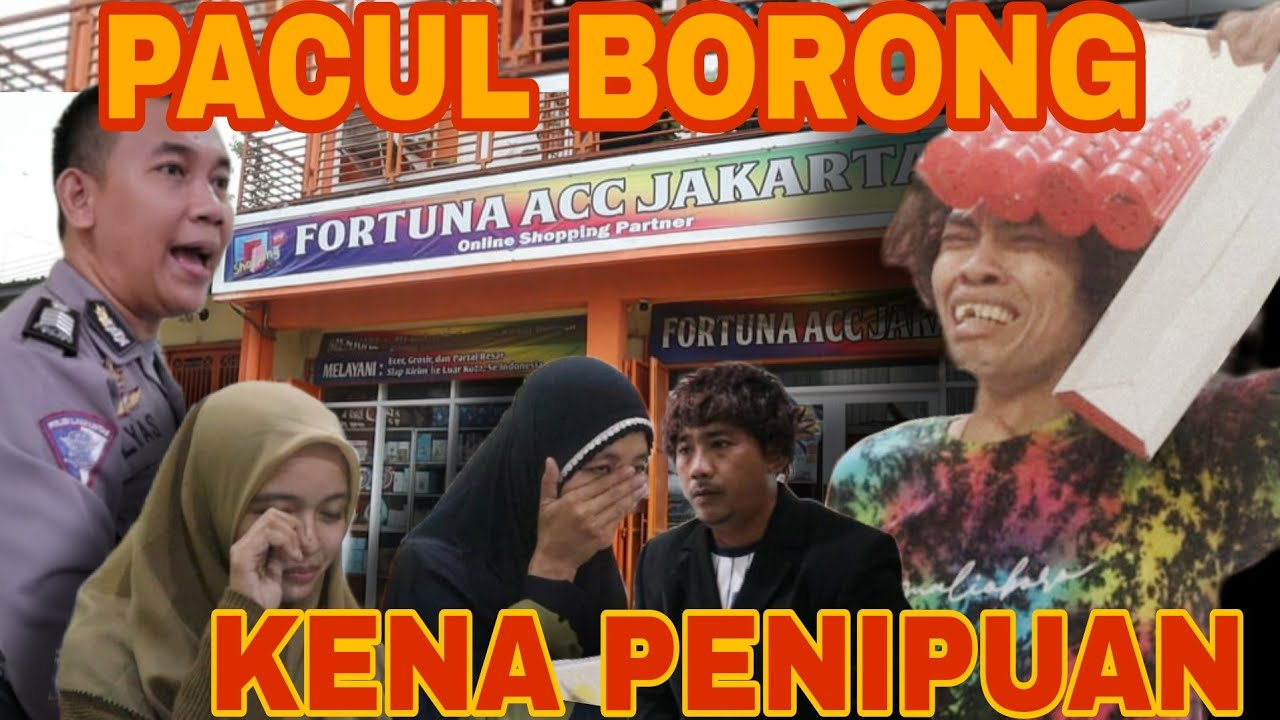 Pacul Borong Polisi Kena Penipuan - Polisi Gaul Pacul Lagi