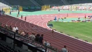 CB 2013 - 400mh Women Final (Axelle Dauwens 55.96)