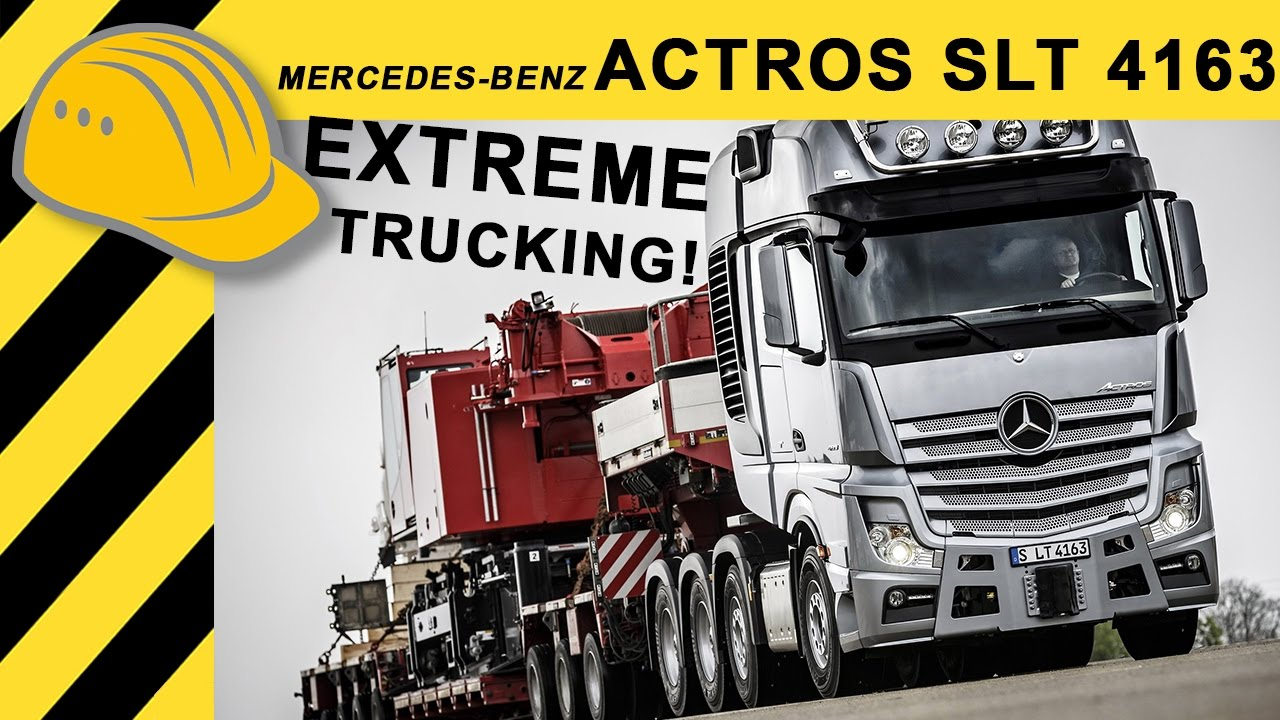 Mercedes Benz Actros Slt 4163 Actros Mp4 Schwerlast Lkw