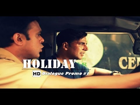 Holiday A Soldier Is Never Off Duty  Dialogue Promo #1