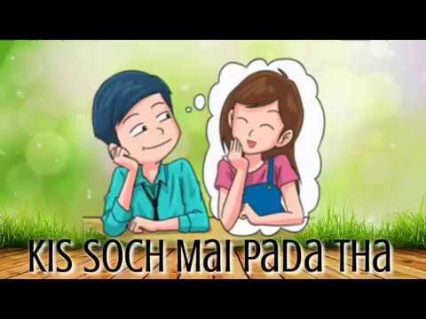 Muskurana Bhi Tujhi Se Sikha Hai - Romantic Whatsapp Status, Animated WhatsApp Status