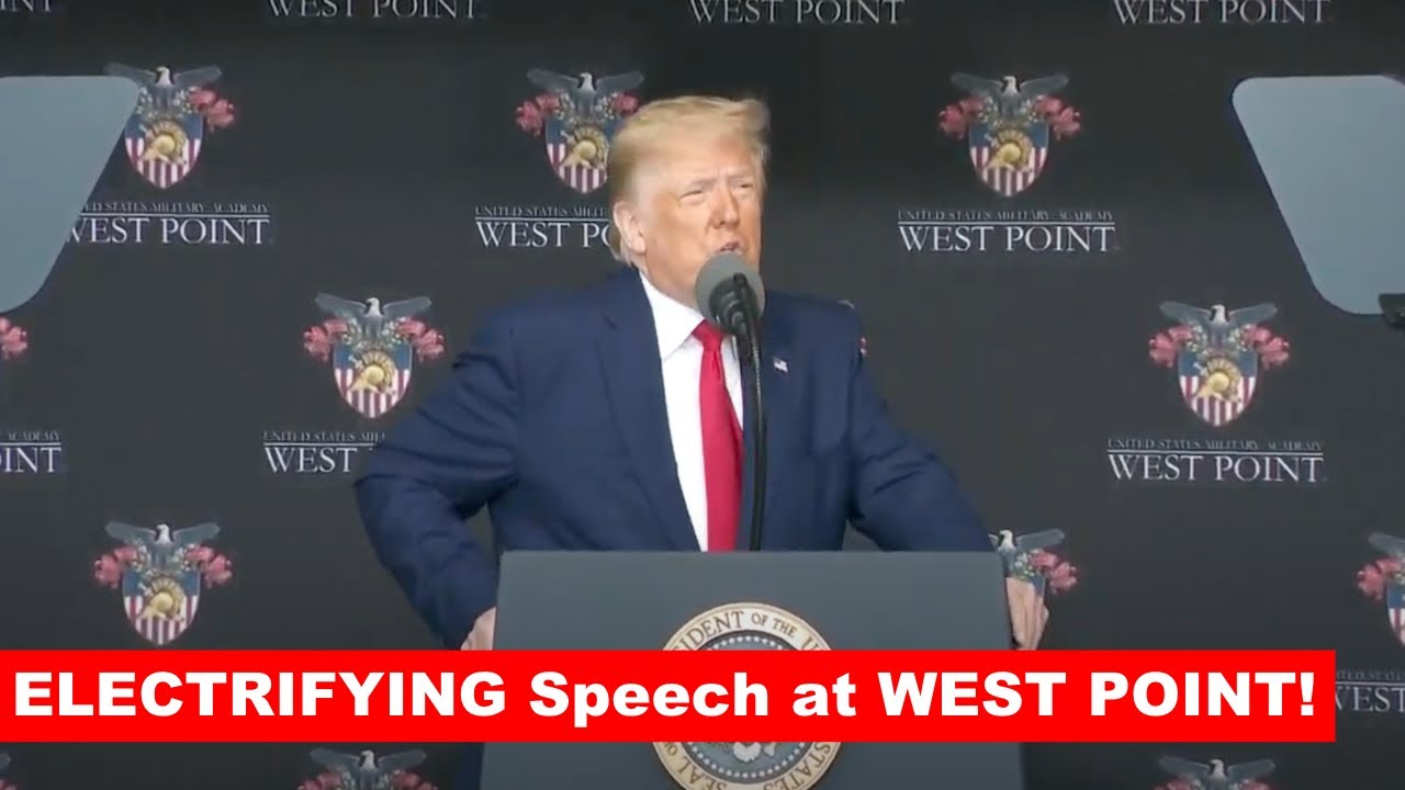 MY ADMINISTRATION TOOK THEM OUT: Trump ELECTRIFYING Speech at West Point Graduation