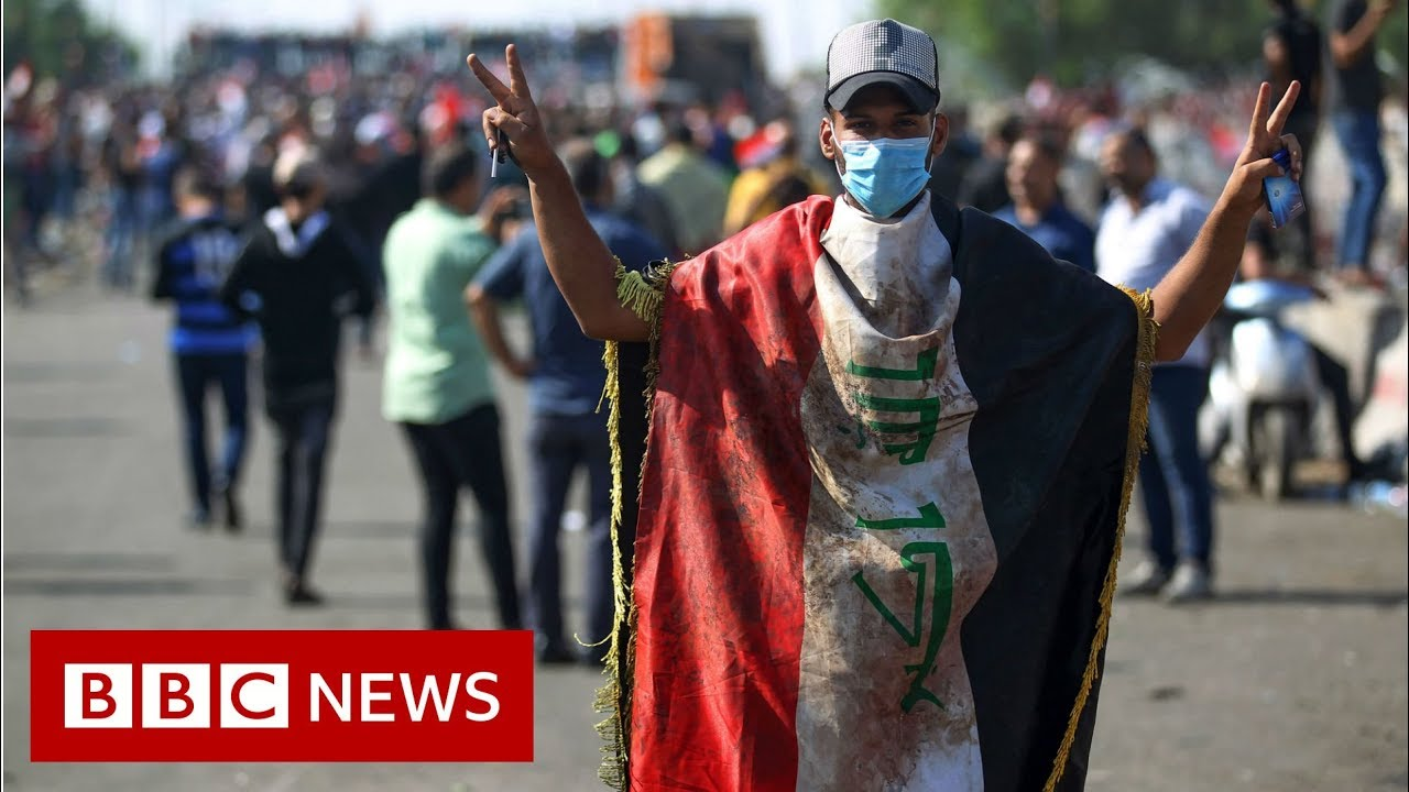 Iraq protests: 40 dead as mass unrest descends into violence - BBC News