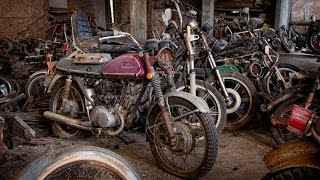 Abandoned Kohl's Motorcycle Salvage - Urban Exploration