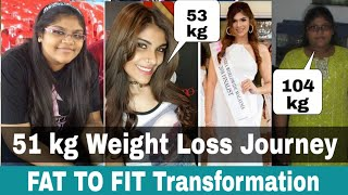 51 kg Weight Loss Journey of Joanna Joseph | Fat To Fit Transformation