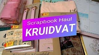 Compras Haul Scrapbook | Kruidvat | Diana Lieflang