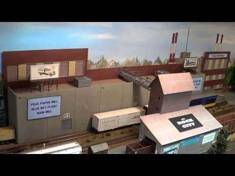 GRANDE PACIFIC MODEL RR UPDATE LAYOUT TOUR