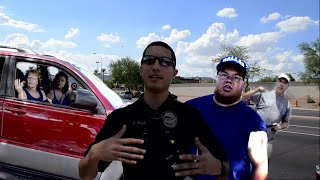 tempe police interfere with filming