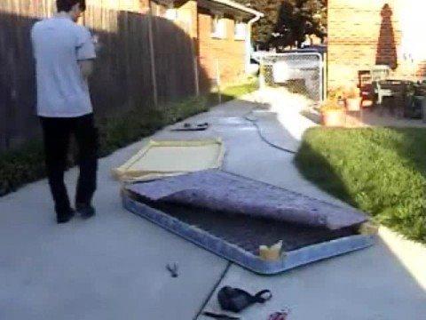 How To Cut A Tempurpedic Bed In Half Part 1 Doovi