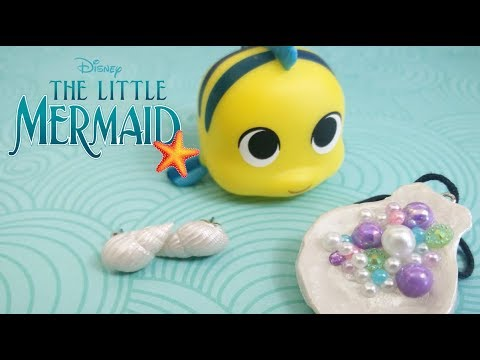 (DIY) BIJOUX ARIEL POUR DISNEYBOUND - FIMO / POLYMER CLAY