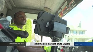 City needs garbage truck drivers