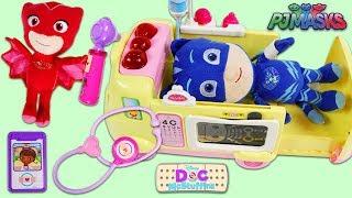 PJ Masks Catboy Visits Doc McStuffins Toy Hospital!