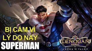 Đây là lý do SUPERMAN bị cấm trong đấu rank cao và cách lên đồ mới phiên bản Tết gắn kết