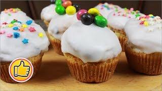 Пасхальные Кексы (Куличики) без Дрожжей   Easter Cupcakes